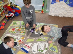 Our new group-play car mat