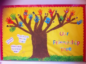 Our friendship display