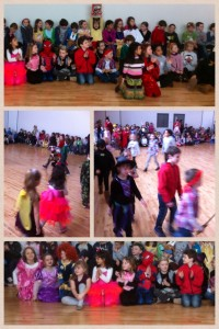 The parade of costumes